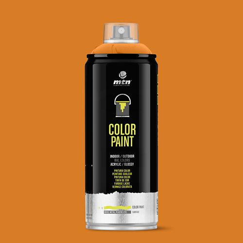 Spray pintura montana pro ral-2011 naranja intenso 400ml