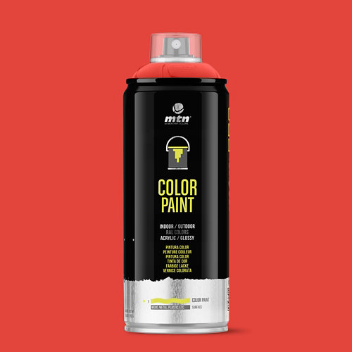 Spray pintura montana pro ral-3001 rojo señales 400ml