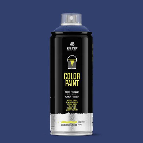 Spray pintura montana pro ral-5013 azul cobalto 400ml