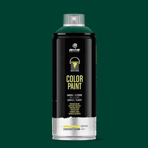 Spray pintura montana pro ral-6005 verde musgo 400ml