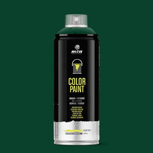 Spray pintura montana pro ral-6009 verde abeto 400ml
