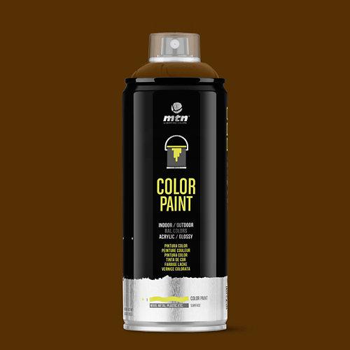 Spray pintura montana pro ral-8011 pardo nuez 400ml