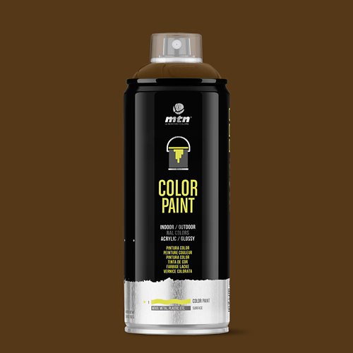 Spray pintura montana pro ral-8014 sepia 400ml