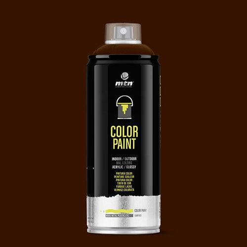 Spray pintura montana pro ral-8016 caoba 400ml