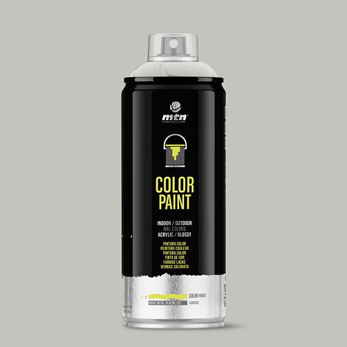 Spray pintura montana pro ral-7001 gris plata 400ml