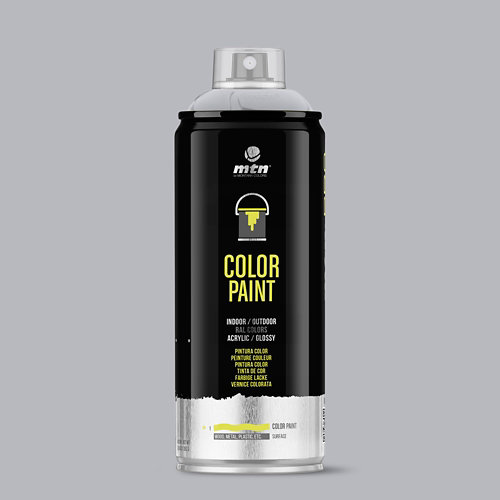 Spray pintura montana pro ral-7040 gris ventana 400ml