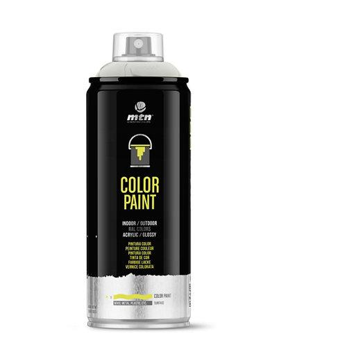 Spray pintura montana pro ral-9002 blanco grisáceo 400ml