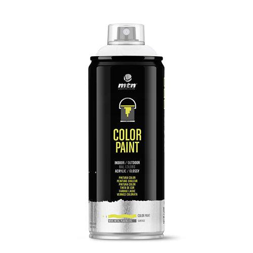 Spray pintura montana pro ral-9010 blanco 400ml