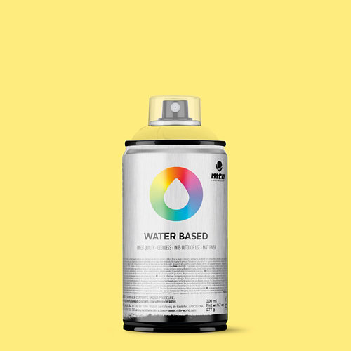 Spray pintura montana wb 300 cadmium yellow light 300ml