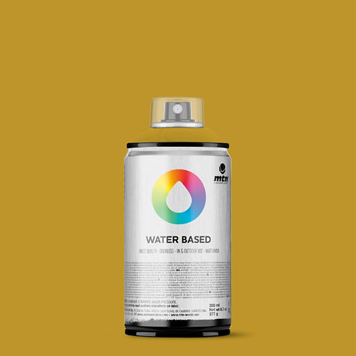 Spray pintura montana wb 300 yellow ocre 300ml