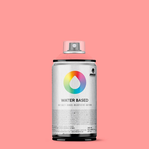 Spray pintura montana wb 300 cadmiun red pale 300ml