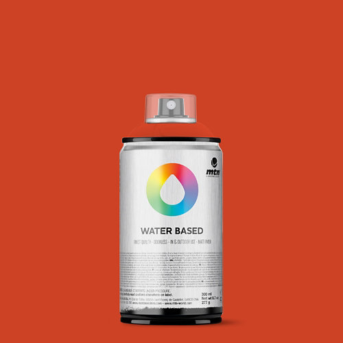 Spray pintura montana wb 300 naphthol red 300ml