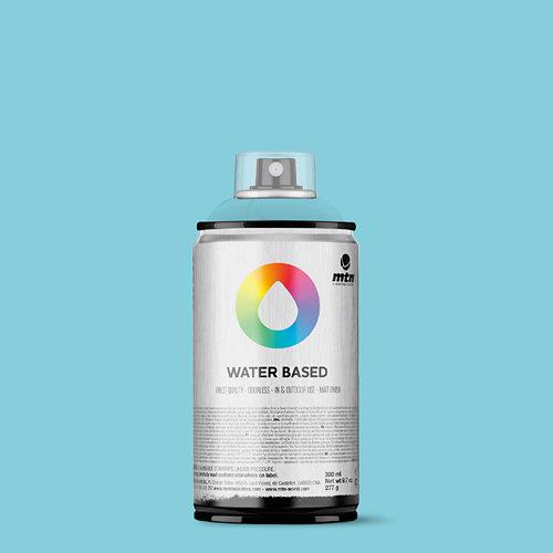 Spray pintura montana wb 300 phthalo blue light 300ml