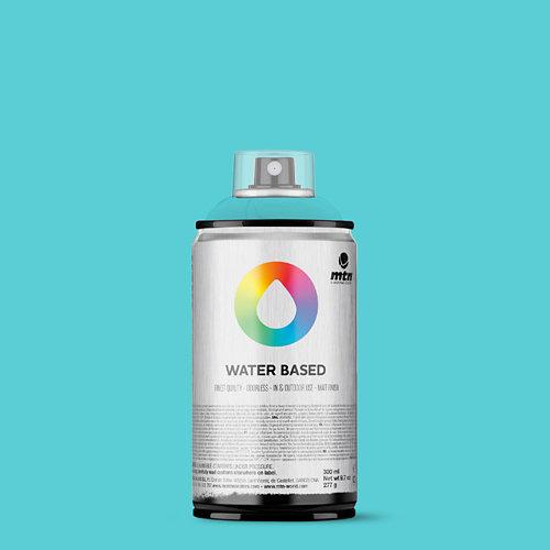 Spray pintura montana wb 300 blue green pale 300ml