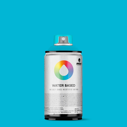 Spray pintura montana wb 300 blue green light 300ml