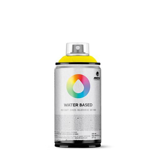 Spray pintura montana wb 300 fluorescent yellow 300ml