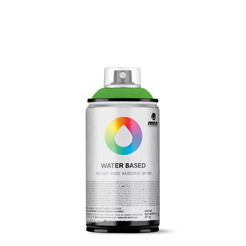 Spray pintura montana wb 300 fluorescent green 300ml