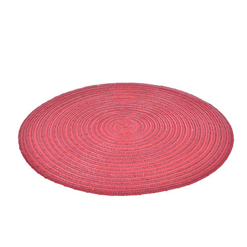 Bajo plato decorativo 38 cm rojo