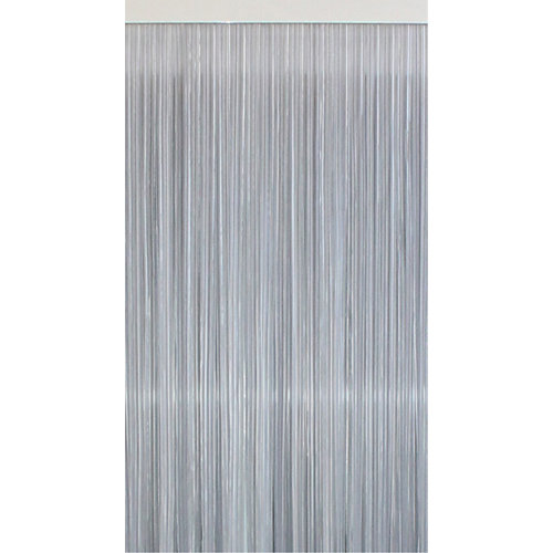 Cortina de puerta transparante tradicional mijares de 120 x 210 cm