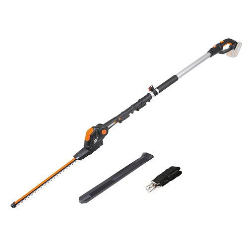 Cortasetos pértiga a batería worx 20v 45 cm largo cuchilla