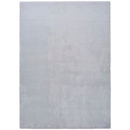 Alfombra de interior color gris poliéster berna liso 120 x 180cm