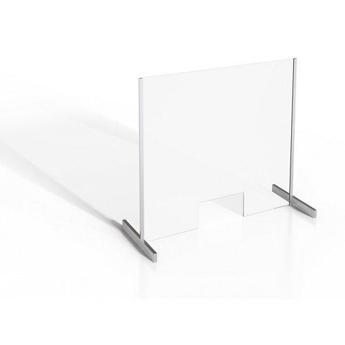Mampara protectora vidrio templado c 100x90cm