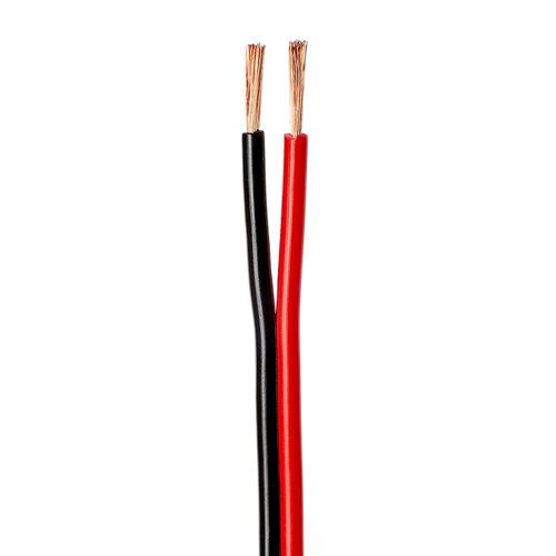 Cable hifi 2x1. 5mm 5m negro/rojo fc-d lexman
