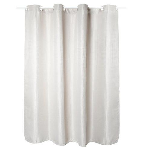 Cortina de baño blanco 180x200 cm