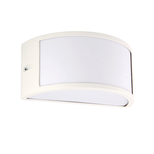 Aplique de exterior silvia blanco ip44 inspire