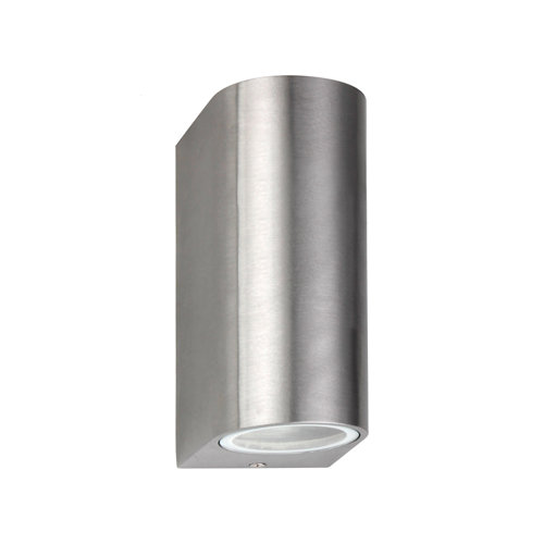 Aplique de exterior kofu 2xgu10 alu gris inspire
