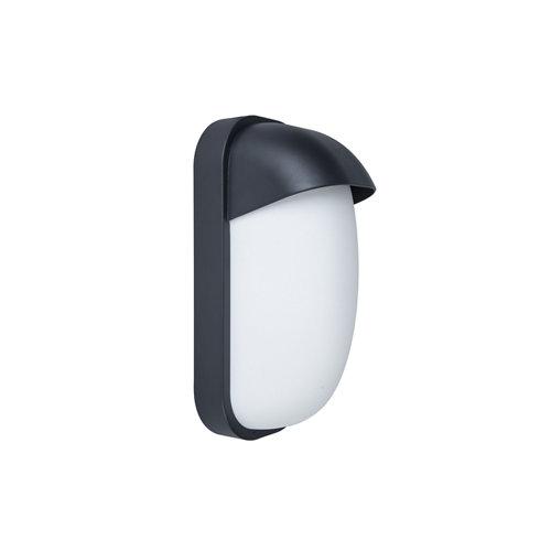 Aplique de exterior pekko negro ip44 inspire