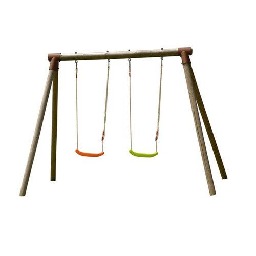 Columpio soulet alizee madera marrón 166x190x265cm