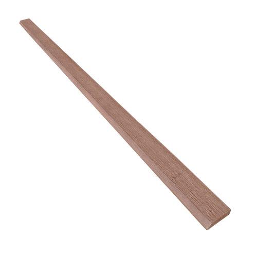 Rodapié de composite marrón de 5.5x1 cm