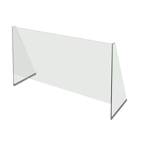 Mampara vidrio templado e 100x90 cm