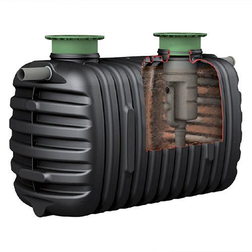 Fosa séptica 2000l con filtro 3-8 habitantes