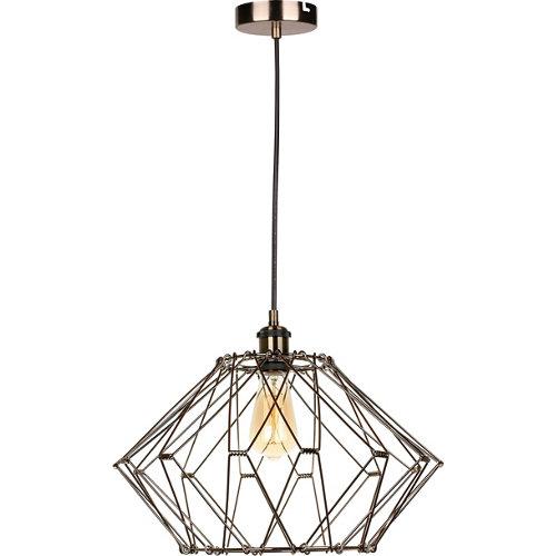 Lámpara multiformas acore 1 luz dorada