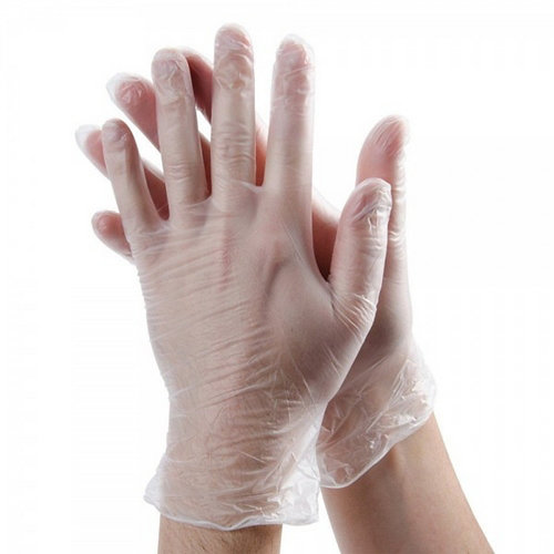 100 guantes vinilo s/polvo xl