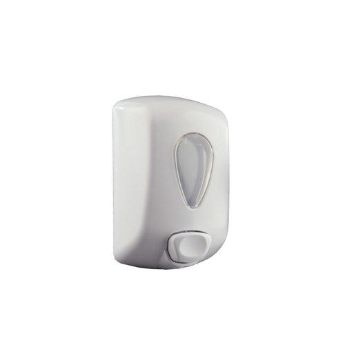 Dispensador de jabón e hidrogel gota blanco