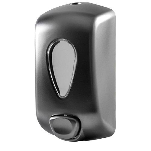 Dispensador de jabón hidrogel gota cromo