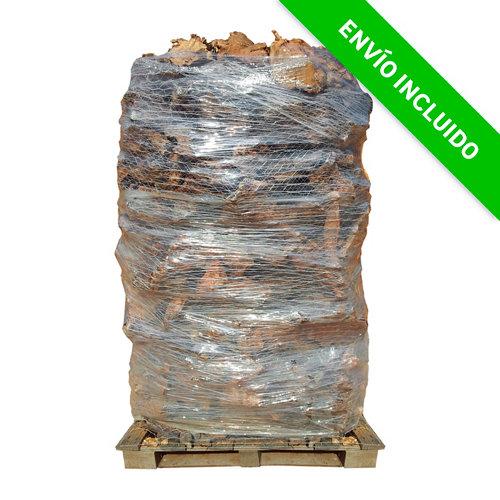 Palet de leña de olivo leñas oliver de 1000 kg