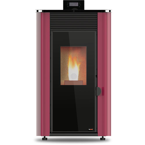 Estufa de pellet red pod first advance 8 kw burdeos