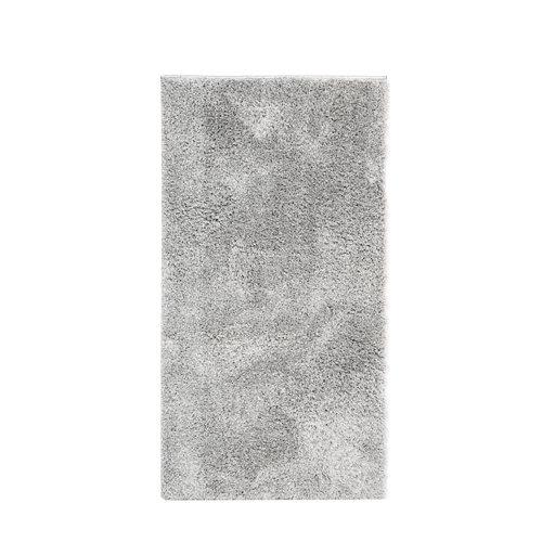Alfombra gris microfibra blizz antracita 60 x 110cm