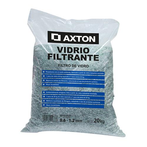 Pack 4 sacos de vidrio filtrante piscina axton 100 kg
