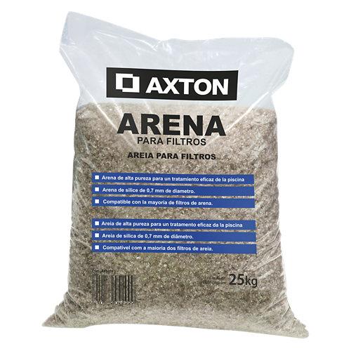 Pack 6 sacos de arena sílice axton 150 kg