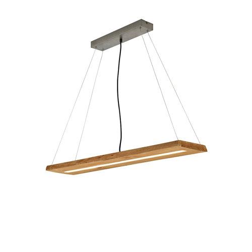 Lámpara led brad 27w 3000k madera