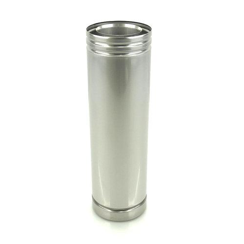Tubo para chimenea de gas hergom 50cm 100/150