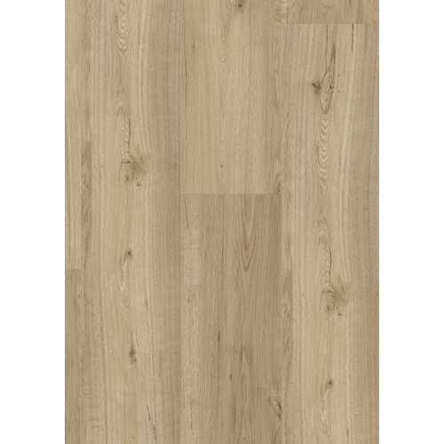 Lama vinílica clic gerflor intenso columbia taupe, estilo madera, color marrón