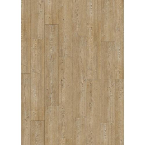 Lama vinílica clic gerflor intenso portree light, estilo madera, color marrón