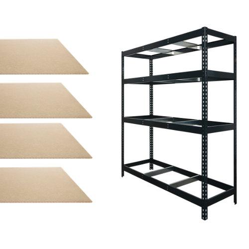 Lotes stocker estantería+ baldas 200x170x60 650kg.