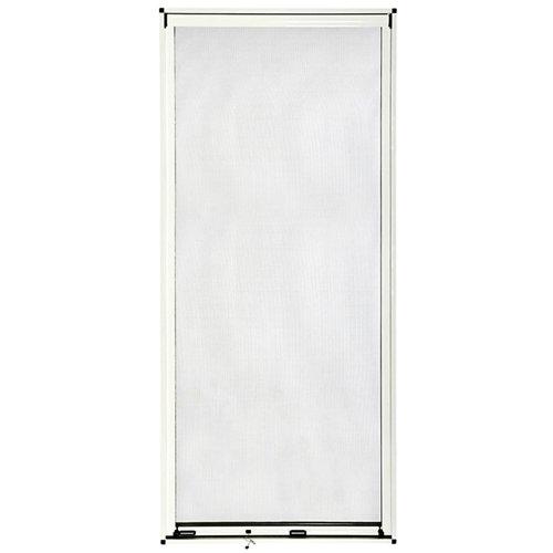 Mosquitera enrollable artens puerta con tela de fibra de vidrio de 140x230 cm